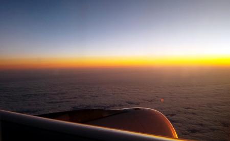 sunrise in the sky Stock fotó