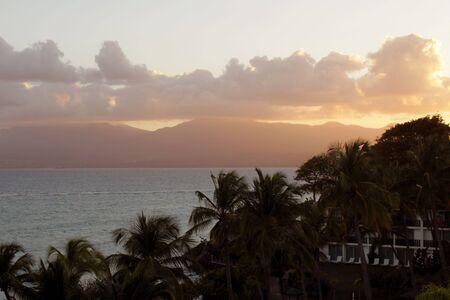 Guadeloupe sunset Stock fotó