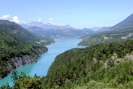 Lake of monteynard