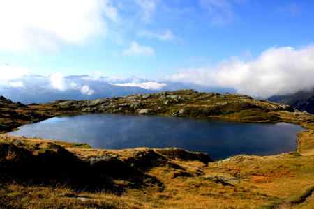 mountain lake Stock fotó