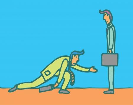 begging: Begging for business