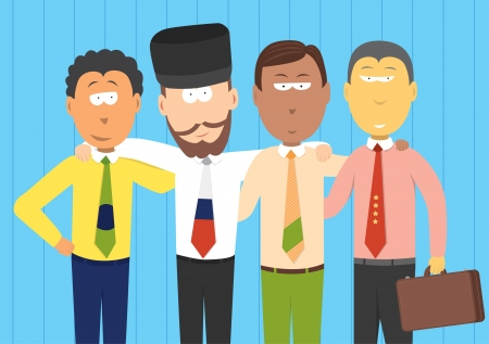 economic depression: BRIC businessmen  Future economies
