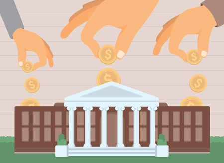 university campus: College funding  Education investing