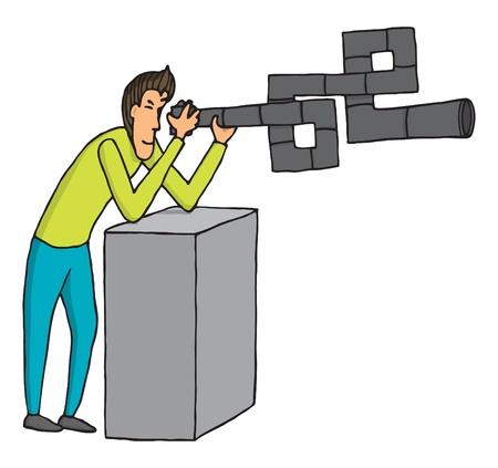 Complex photo lens Vector