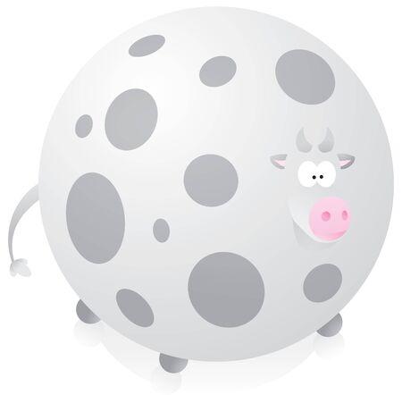 Big fat cow Stock Vector - 19127719