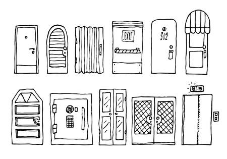 doorframe: Puertas y set de entrada