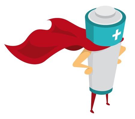 bateria: Energía Hero  batería recargable