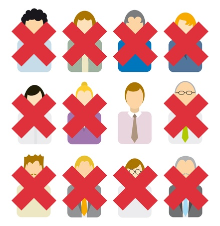 downsizing: Candidate selection  Layoffs or Winner Illustration