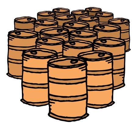 oil drum: Oil drum  Bunch of barrels