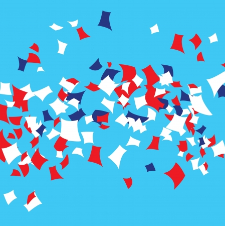 political rally: Partito  Parade Confetti
