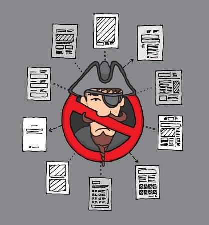 computer hacker: Legge Sopa pirateria digitale Banned