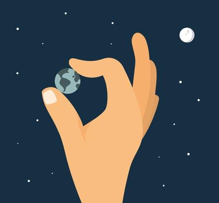 world at your fingertips: World at your fingertips   Powerful hand