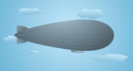 zero gravity: Flying zeppelin