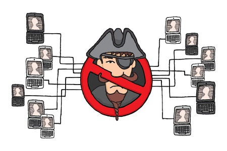 Piracy network banned   Sopa and pipa law