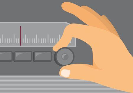 radio station: Old Radio Tuning