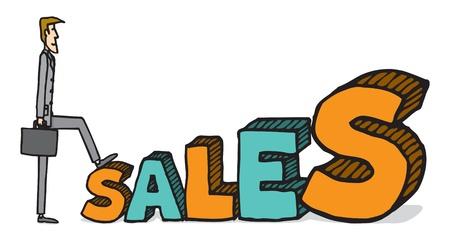 sales executive: Crecimiento de las ventas