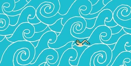 Nuoto contro corrente