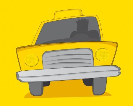 Yellow Cab / Taxi Stock Vector - 19177376