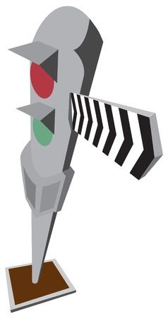 zug cartoon: Cartoon Zug Signal