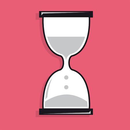 sand clock: Icono del reloj de arena