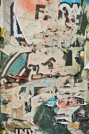 bad condition: Random collage or overlayered papers