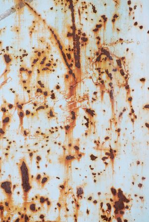 worn out: Rusty metal texture with worn out paint
