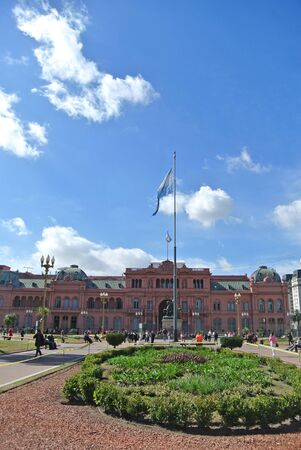 argentinean: Argentinean government palace at Plaza de Mayo Buenos Aires