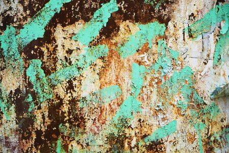 trashy: Photograph of urban background or paint texture on wall