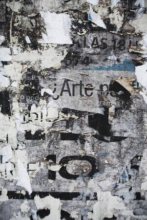 Photo of urban collage background or typography texture