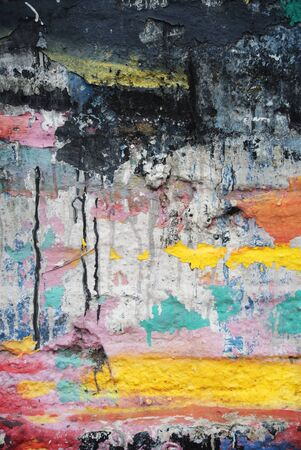Photograph of urban background or paint texture