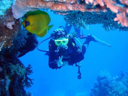 aqualung: sommozzatore