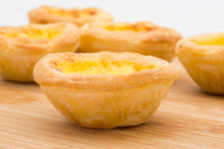 portuguese egg tart photo