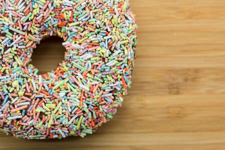 Colourful Chocolate Donut  photo