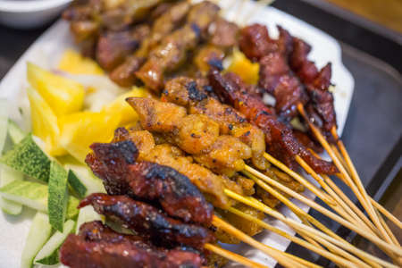 malaysian food: Satay