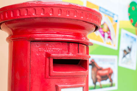 postbox: Traditional Red Postbox