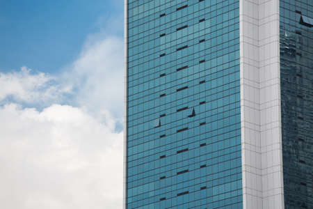 sky rise: High Rise Building with blue sky