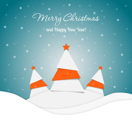 christmas greeting card: Merry Christmas Greeting Card
