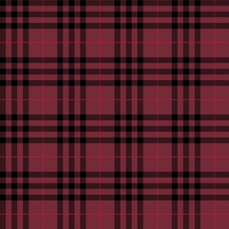 Tartan Seamless pattern. Burgundy, green, blue check plaid background for decorations, textile and clothing fabric. 向量圖像