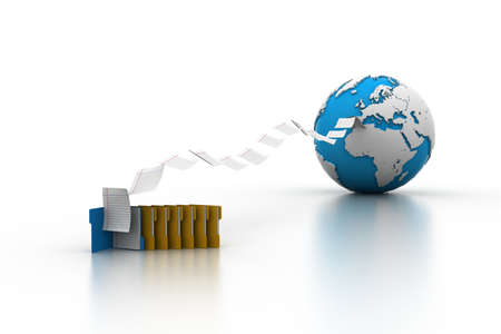 transferring: Files transferring