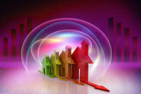 3d, Energy efficiency concept Stock Photo