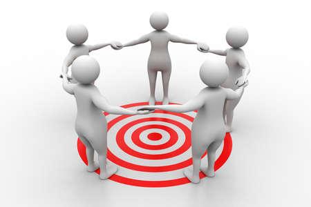 towards: Teamwork  Working towards a common target