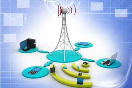 sonic: Signal tower with networking