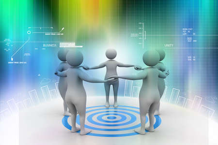 common target: Teamwork  Working towards a common target