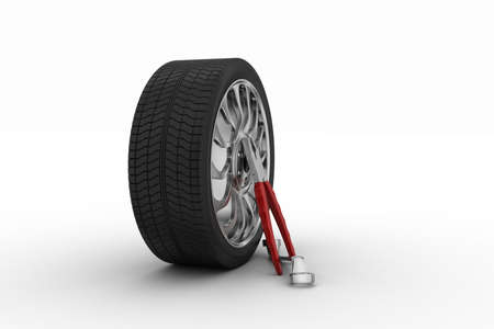 replacement: 3d tires replacement concept