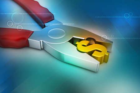 Finanzdienstleistungskonzept Standard-Bild - 29527915