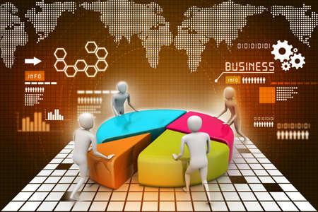 Team work, business concept
