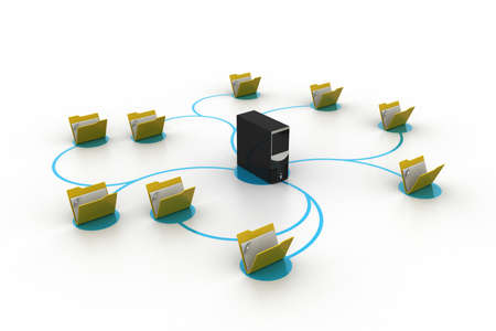 Data transferring photo