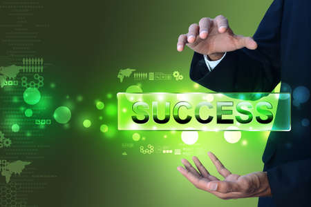 Concept of success photo