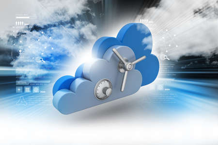 cloud: Data security concept in cloud computing