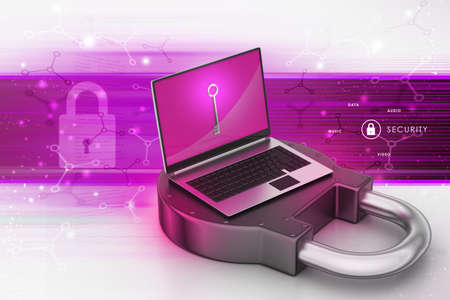 Internet security concept photo